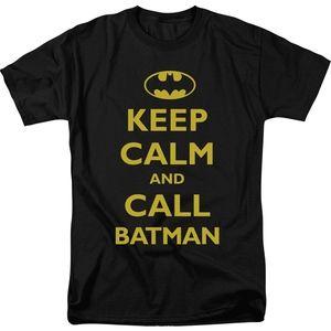 Batman- Keep Calm T-Shirt- Men's